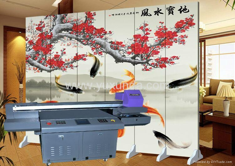 60cm*90cm digital textile printing machine uv printer 11
