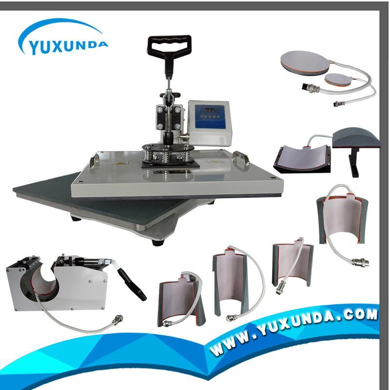多功能8合1热转印机器 8