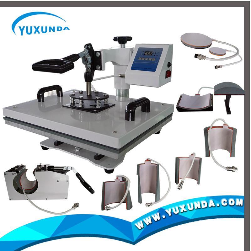 多功能8合1热转印机器 11