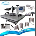 hot 8 in 1 multifunctional heat press machine 11