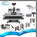 hot 8 in 1 multifunctional heat press machine 10