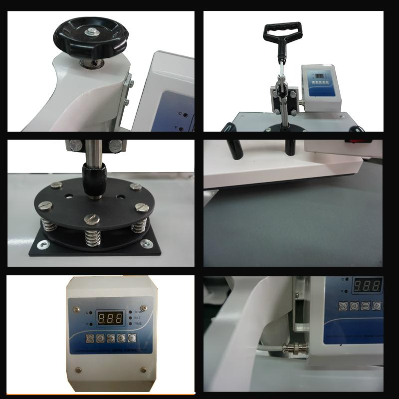 hot 8 in 1 multifunctional heat press machine 13