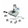 9 in 1 combo heat press machine  4