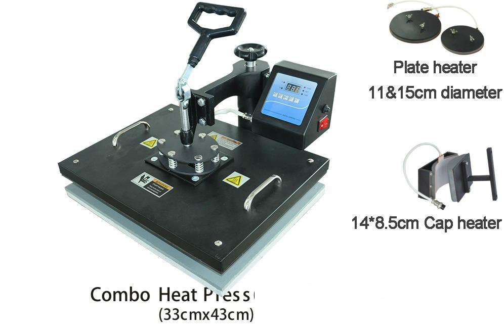 5合1多功能熱轉印機 7