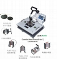 YUXUNDA Own Developed Mini 8 in 1 combo machine with CE be on sale