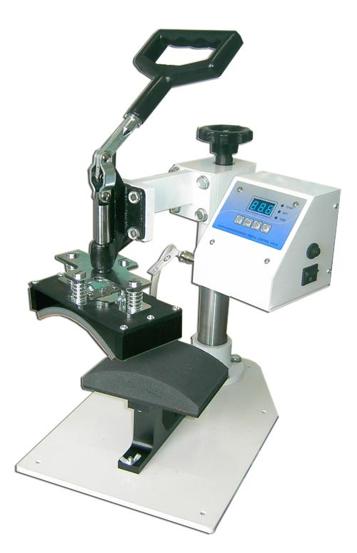 Digital cap heat press machine 6