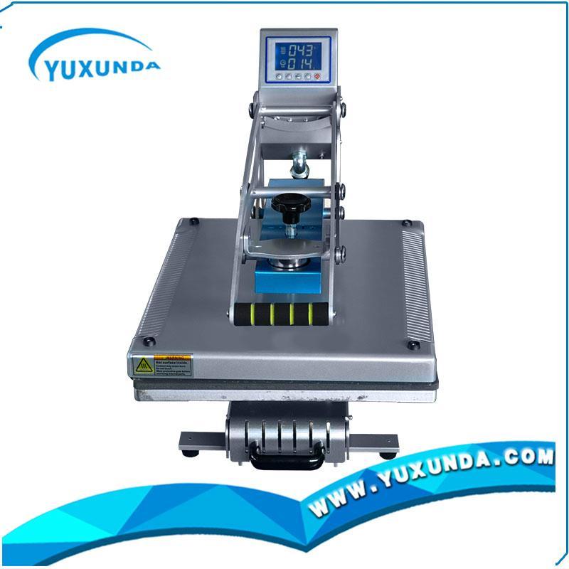 Yxd hcs405 magnetic t shirt plain heat press machine yxd for T shirt manufacturing machine in india