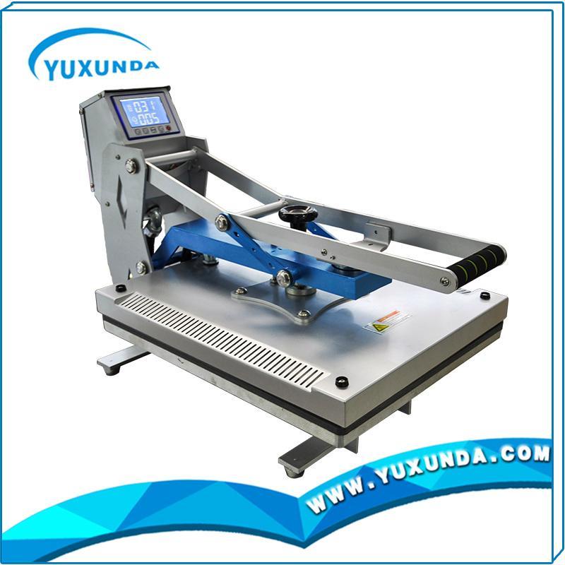 High pressure auto open t-shirt sublimation heat transfer machine for sale 5