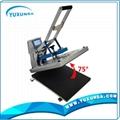 High pressure auto open t-shirt sublimation heat transfer machine for sale 6