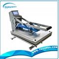 High pressure auto open t-shirt sublimation heat transfer machine for sale 7