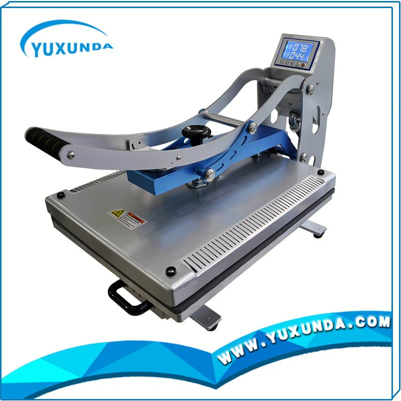High pressure auto open t-shirt sublimation heat transfer machine for sale 9