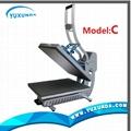 High pressure auto open t-shirt sublimation heat transfer machine for sale