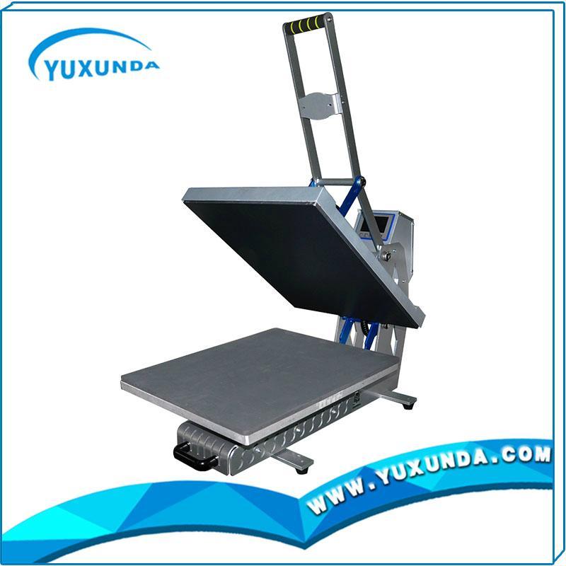 High pressure auto open t-shirt sublimation heat transfer machine for sale 11