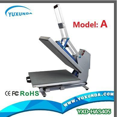 High pressure auto open t-shirt sublimation heat transfer machine for sale 2