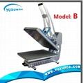 High pressure auto open t-shirt sublimation heat transfer machine for sale 3