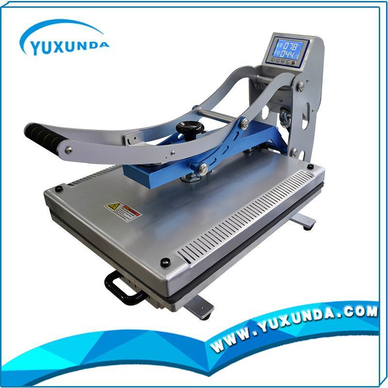 High pressure auto open t-shirt sublimation heat transfer machine for sale 14