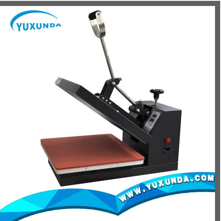 38*38cm plain t-shirt sublimation fabric printer 3