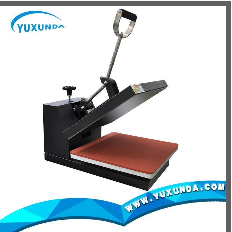 38*38cm plain t-shirt sublimation fabric printer 2