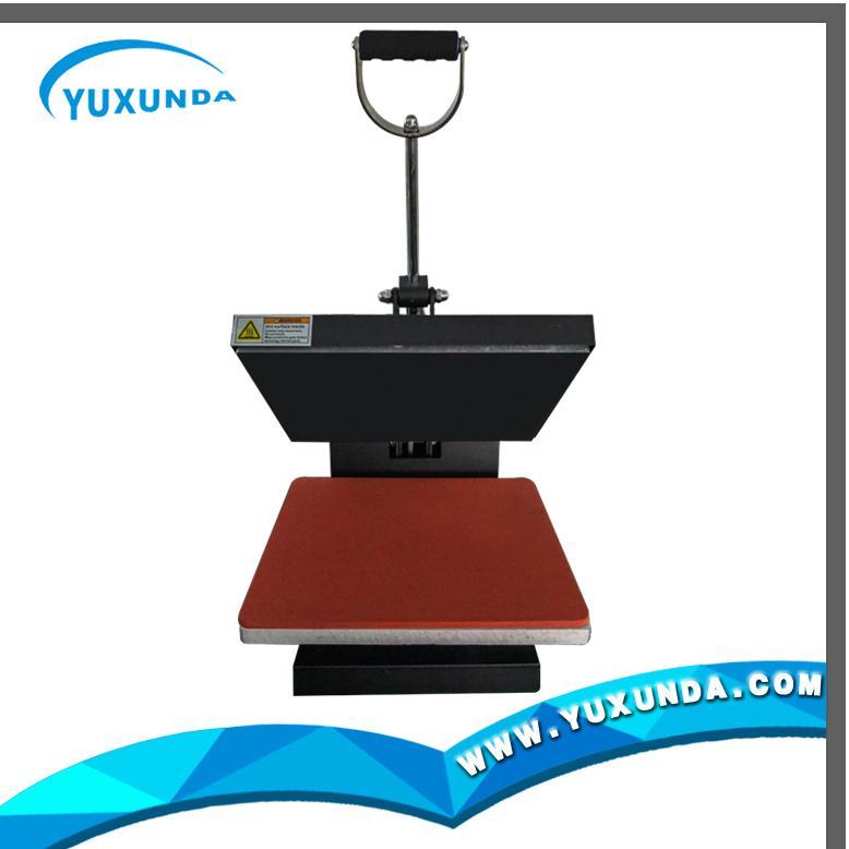 38*38cm plain t-shirt sublimation fabric printer 5