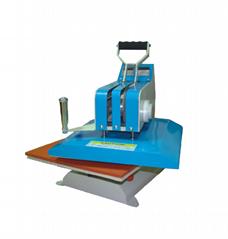 Digital High pressure Wigwag flat t-shirt heat pressmachine