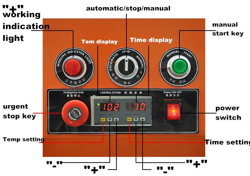 A8 Pneumatic heat transfer machine 9