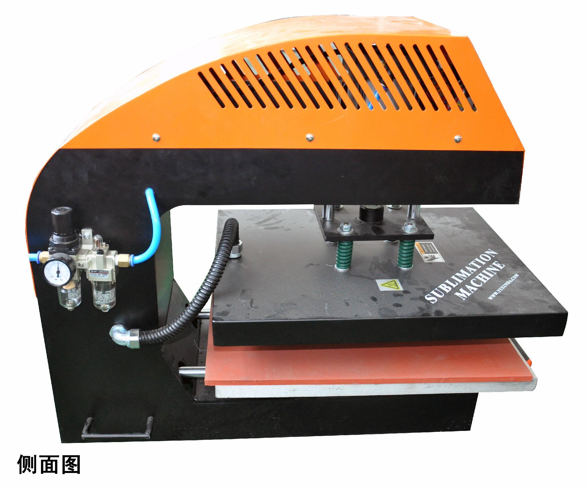 A9气动双工位烫画机 13