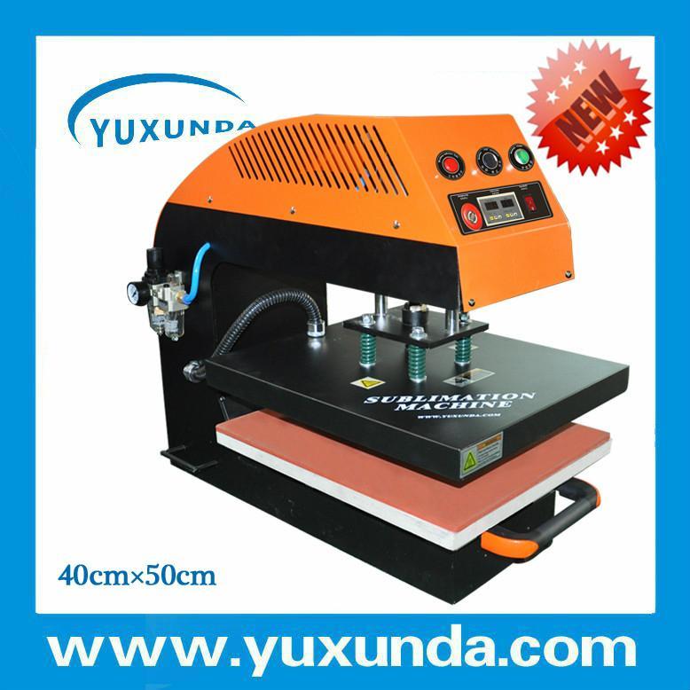 A8气动单工位烫画机 3