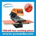 60*80cm A8气动单工位烫画机 4