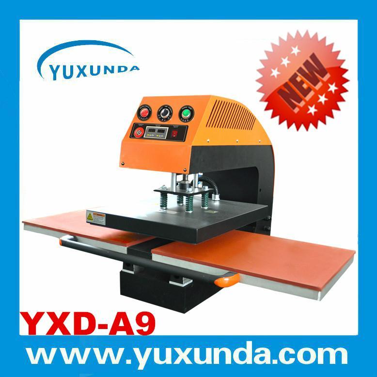 60*80cm YXD-A8 air operated single station heat press machine  8