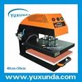 60*80cm YXD-A8 air operated single station heat press machine  15