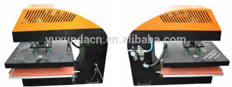 60*80cm YXD-A8 air operated single station heat press machine  20