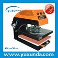60*80cm YXD-A8 air operated single station heat press machine  3