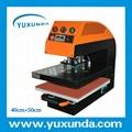 60*80cm YXD-A8 air operated single station heat press machine  17