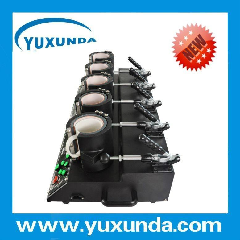 Newest 5 in1 combo mug heat press machine 8