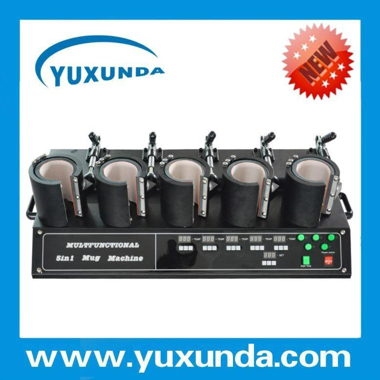 Newest 5 in1 combo mug heat press machine 10