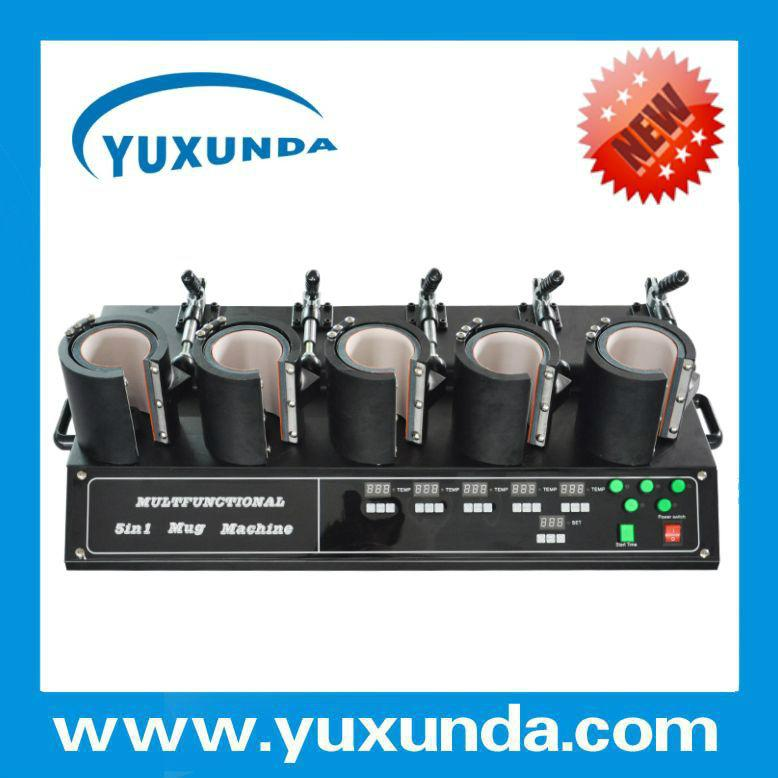 5 in 1 mug heat press sublimation machine   12