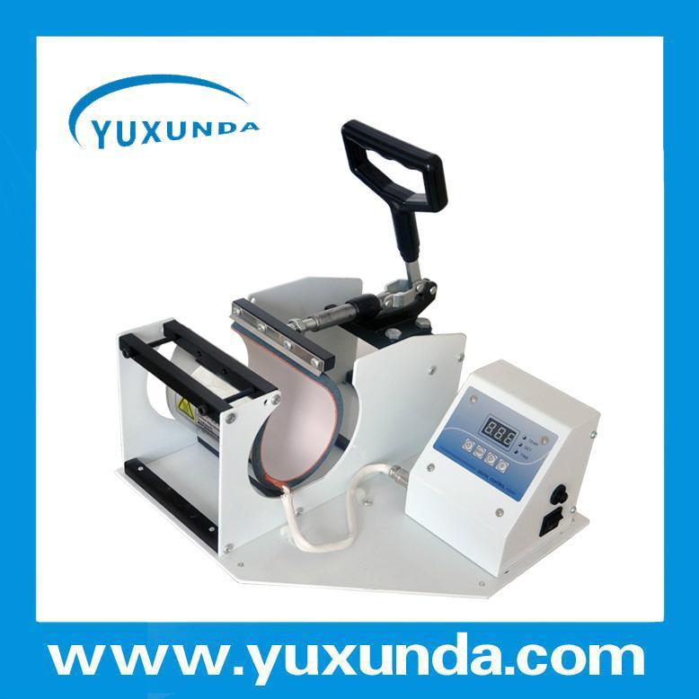CE certificate blue digital mug machine 5