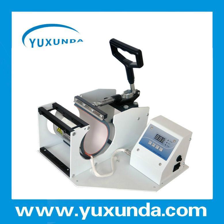 CE certificate blue digital mug machine 8