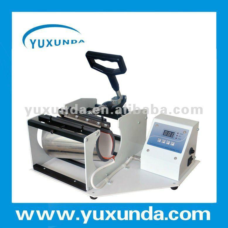 CE certificate blue digital mug machine 9