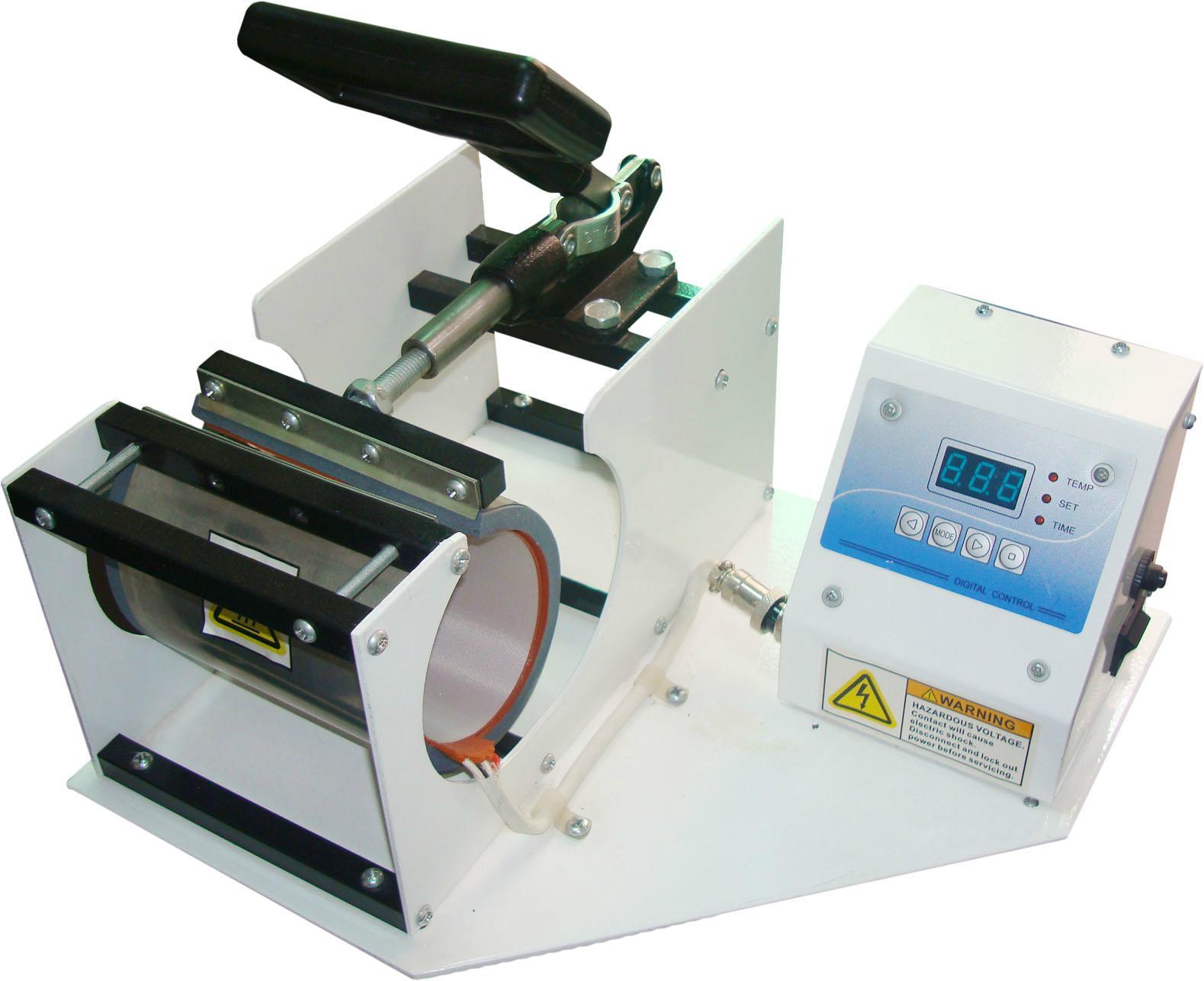 CE certificate blue digital mug machine 10
