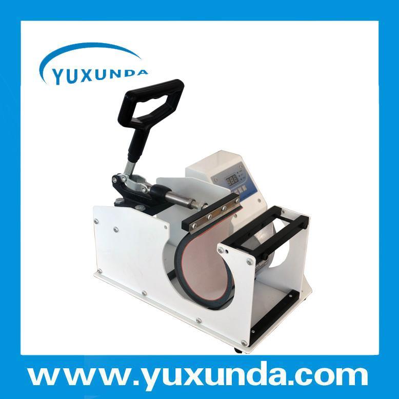 CE certificate blue digital mug machine 11