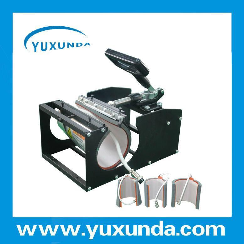 CE certificate blue digital mug machine 12