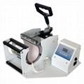 CE certificate blue digital mug machine 14