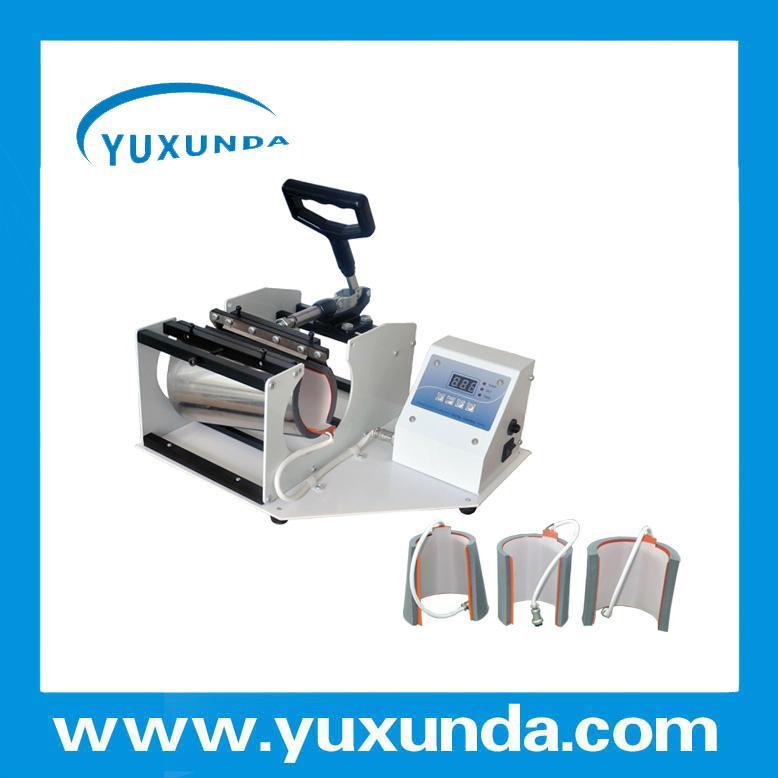 Horizontal Digital Mug heat press machine 5