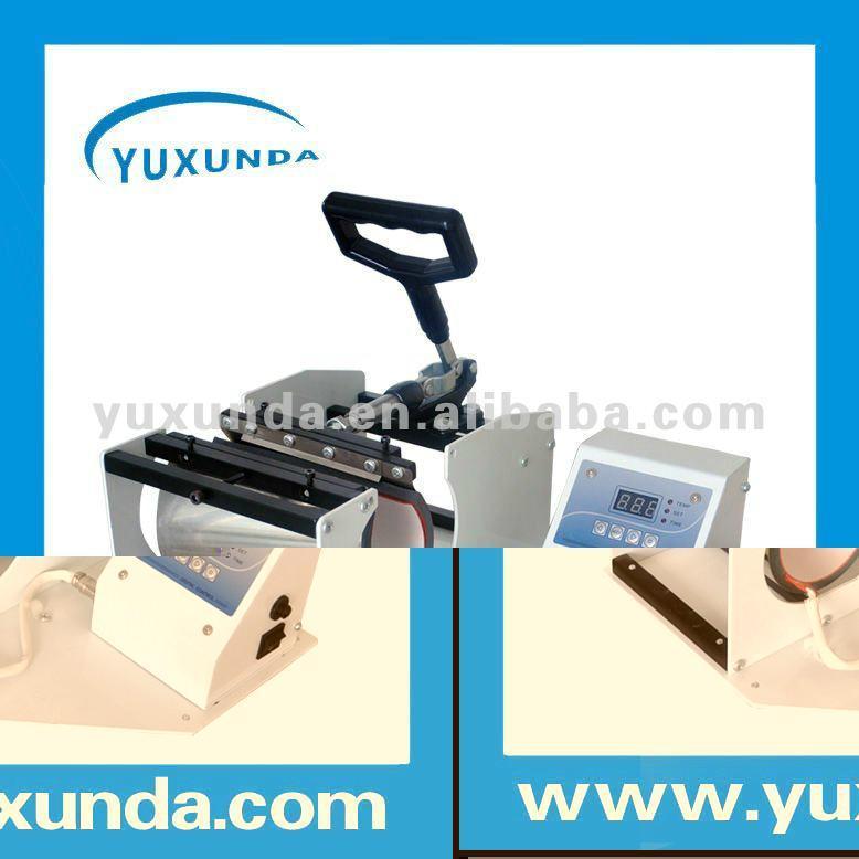 Horizontal Digital Mug heat press machine 8