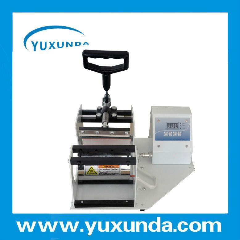 Horizontal Digital Mug heat press machine 10