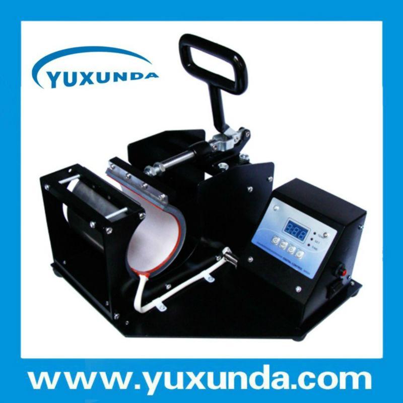 Horizontal Digital Mug heat press machine 15