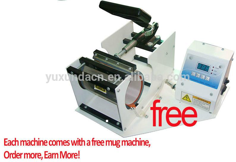 3D sublimation vacuum heat press machine,3d heat transfer machine for cell phone 6