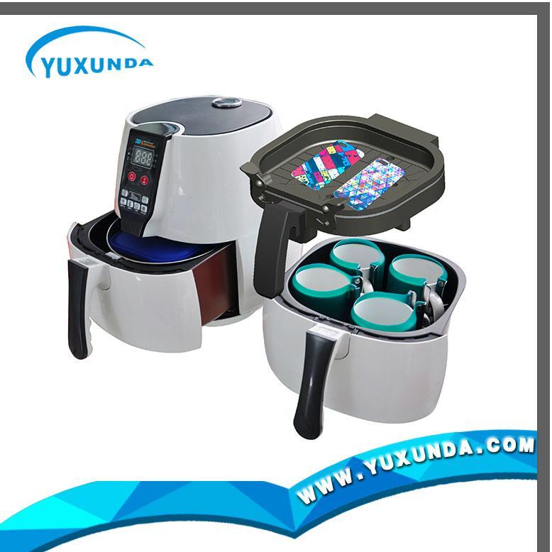 New MINI 3D Sublimation Vacuum Heat Press Machine 14