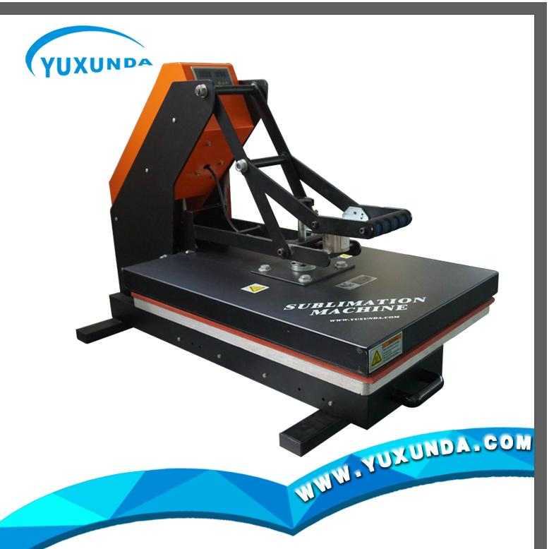 YXD-G7AS automatic open & slide-out rails digital high pressure machine 4